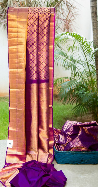 Kanchivaram Silk L02767   Lakshmi