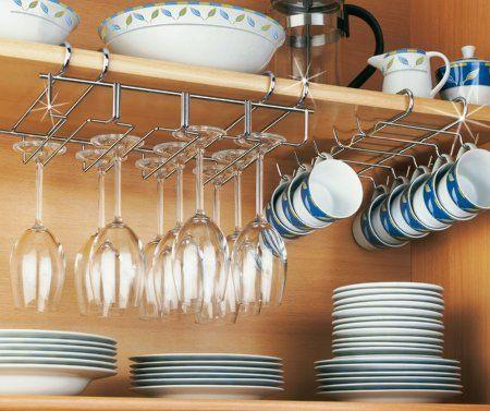 8.24e Wenko 2748130100 - Soporte para tazas de café (accesorio para alacena, 10 tazas, 28 x 5 x 22 cm): Amazon.es: Hogar