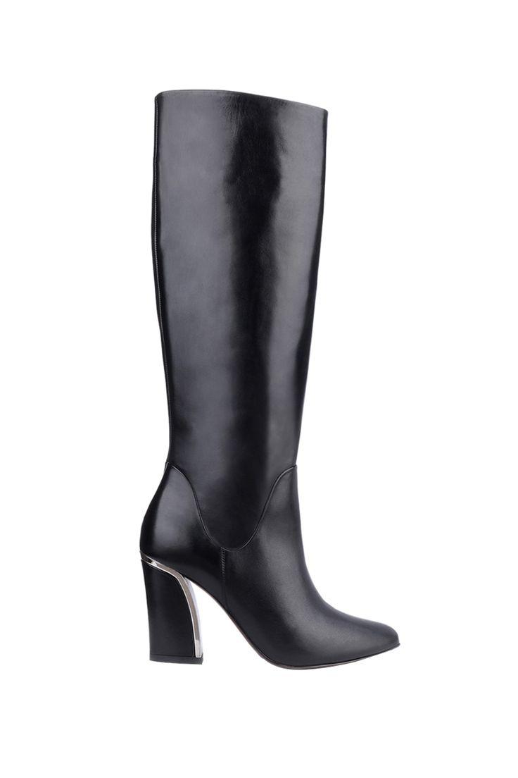 best 25+ bottes cuir noir ideas on pinterest | bottes cuir femme