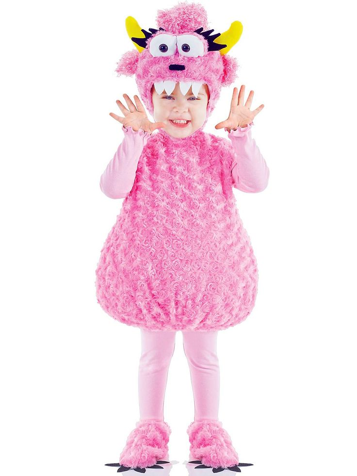 Baby Pink Monster Costume | Wholesale Monster Costumes for Infants & Toddlers