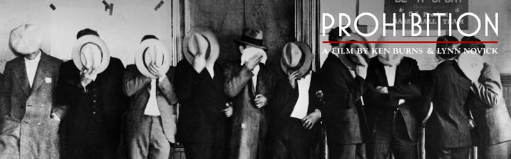 prohibition. pbs website for Ken Burns film series