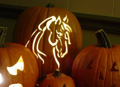 24 Impressive Horse Halloween Pumpkins « HORSE NATION
