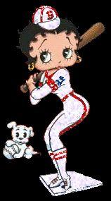 Betty Boop - Beisebol