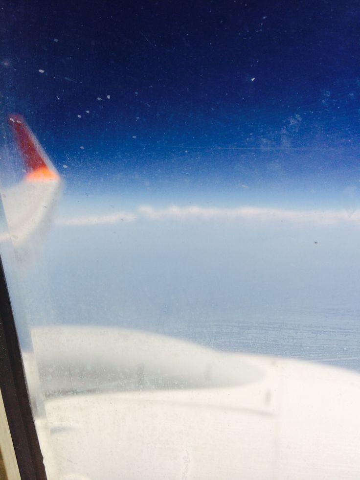오사카 가는 길.. 비행기에서