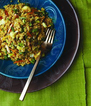 Curried Quinoa with Cauliflower, Almonds and Dried Apricots: Favourite Recipes, Fave Recipes, Favourit Recipes, Recipes To Tried, Rider Recipes, Vegans Recipes