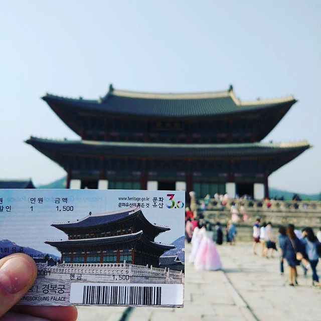 """Hello Seoul! From delicious Korean BBQ  to partying Gangnam Style, let the crazy journey begin ! The first stop: Gyeongbokgung Palace (1395), the main royal palace of the Joseon dynasty . . . ____________________  #gyeongbokgung #royalpalace #joseon"" by @sonatroundtheworld. #pic #picture #photos #photograph #foto #pictures #fotografia #color #capture #camera #moment #pics #snapshot #사진 #nice #all_shots #写真 #composition #фото #europe #roadtrip #여행 #outdoors #ocean #world #hiking…"
