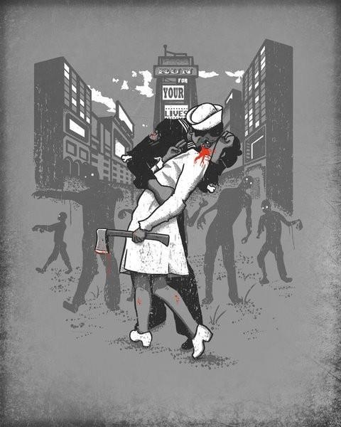 We ♥ zombies #zombies #love #thewalkingdead