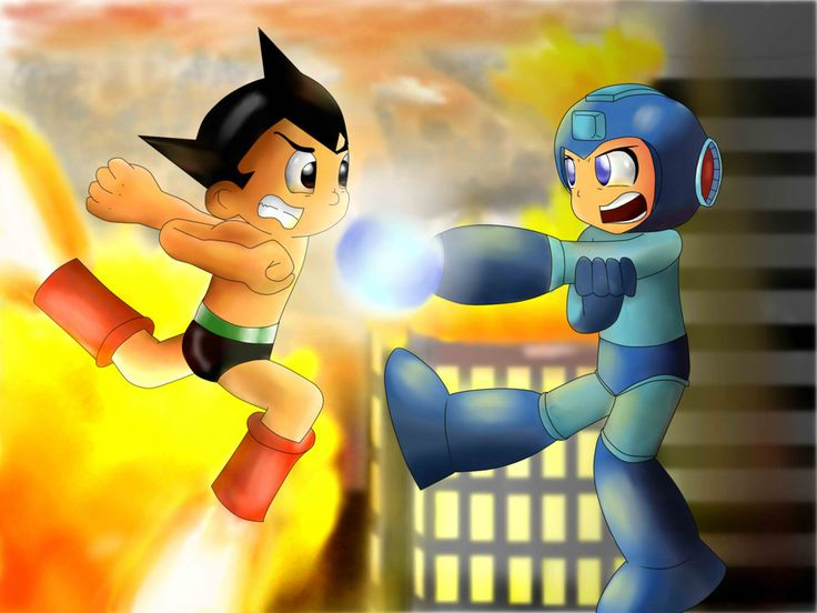 Megaman Vs. Astro Boy! UPDATED!! (With Images)