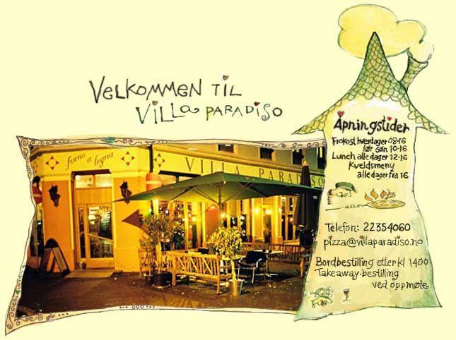 VILLA PARADISO - Piza & Italian