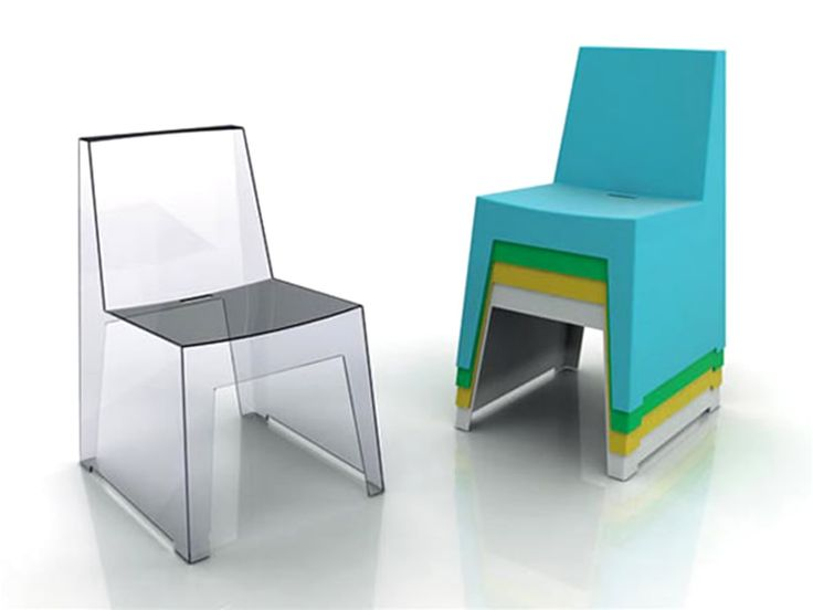 Contemporary Seating Furniture Design of Sue Stackable Chair by Casamania