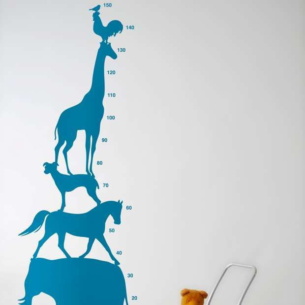 Animal Tower Wall Sticker  Ferm Living Part 71