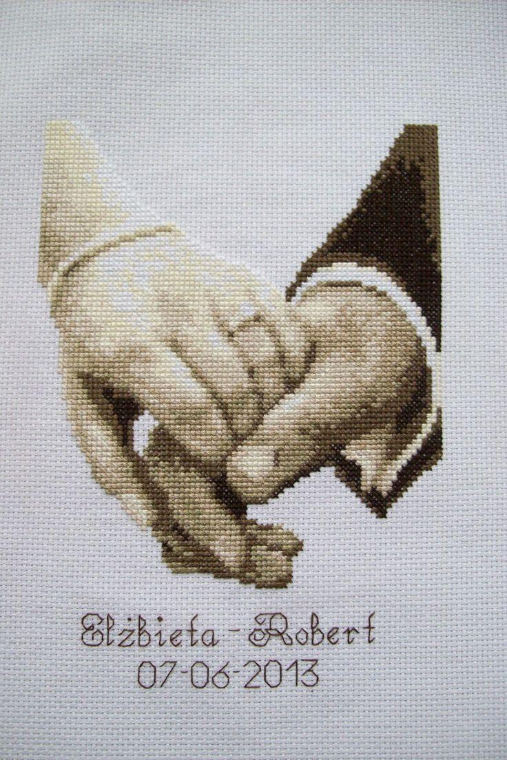 Wedding hands Vervaco