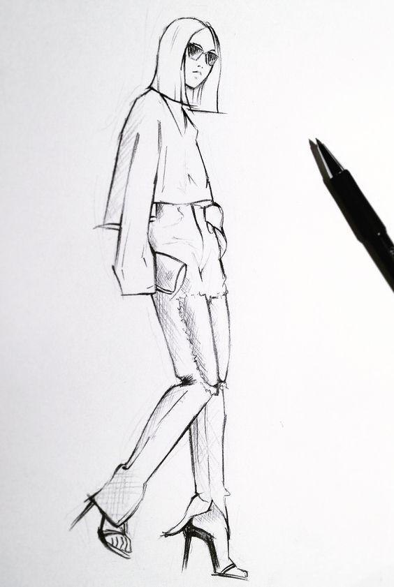 Best 25+ Fashion illustration poses ideas on Pinterest ...
