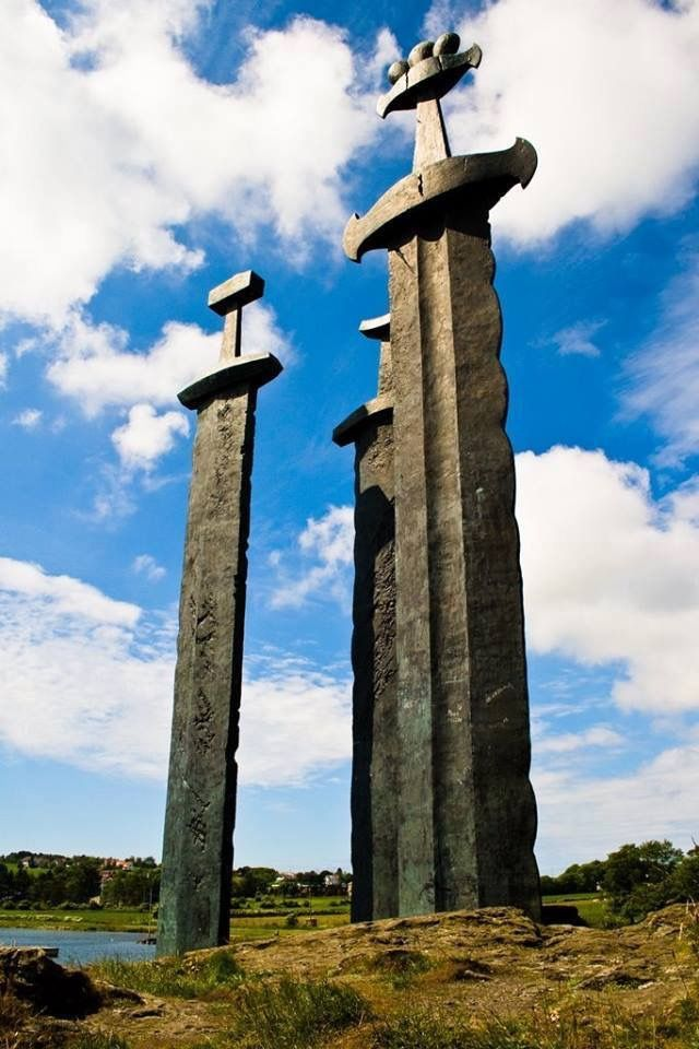 Sverd i fjell, Norway. The coolest monument in the world.