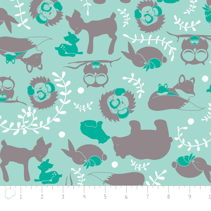 Flannel, Forest toile, aqua, forest animal, 2150042B, col 1, Camelot Fabrics, many yards will be cut as one piece,  by DeCousuCa on Etsy https://www.etsy.com/listing/515033349/flannel-forest-toile-aqua-forest-animal