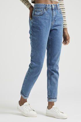 PETITE MOTO Vintage Mom Jeans