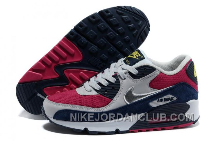 http://www.nikejordanclub.com/inexpensive-nike-air-max-90-womens-running-shoes-on-sale-grey-mei-red-blue-46kpp.html INEXPENSIVE NIKE AIR MAX 90 WOMENS RUNNING SHOES ON SALE GREY MEI RED BLUE 46KPP Only $92.00 , Free Shipping!