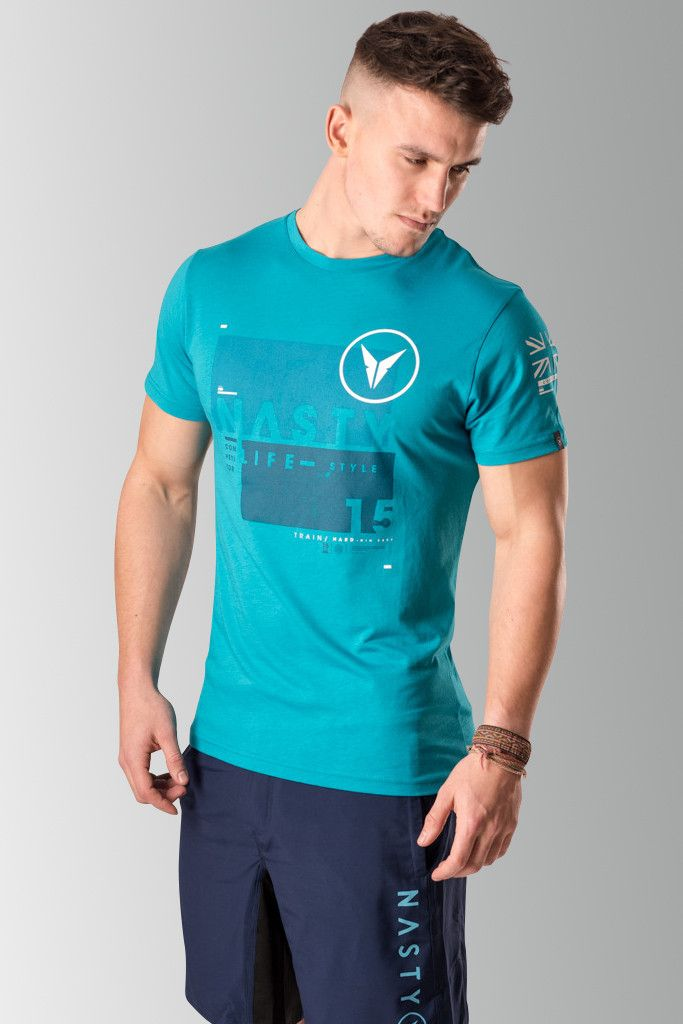 Fitted Athlete T-Shirt by Nasty Lifestyle.  Get yours today!  CrossFit Apparel, Gym Apparel, Fitness Apparel, Mens Lifestyle,