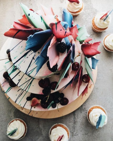 Brush Stroke Cakes Are The Next Big Baking Trend To Hit The Internet