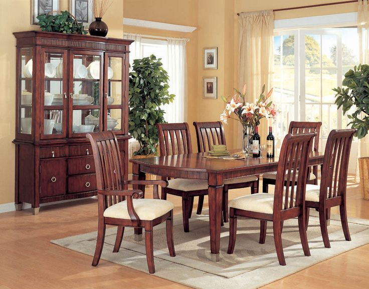Por Formal Dining Room Table Sets Wood