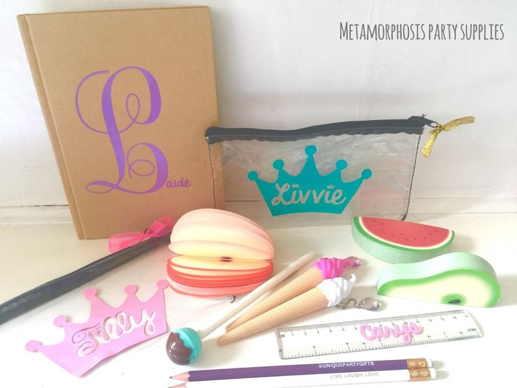 Image of Quirky pens, pencil cases and stationary