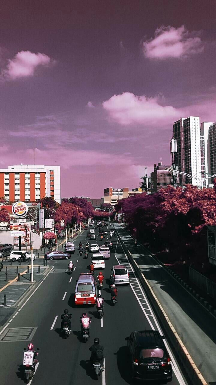 Wallpaper Perkotaan : wallpaper, perkotaan, Pemandangan, Kota,, Pemandangan,, Fotografi