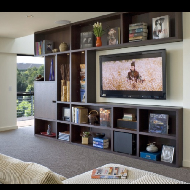 Media Room Storage: Something Like This For Media Storage Except With Open