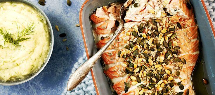 Uunilohi ja kukkakaalipyree | Pääruoat | Reseptit – K-Ruoka