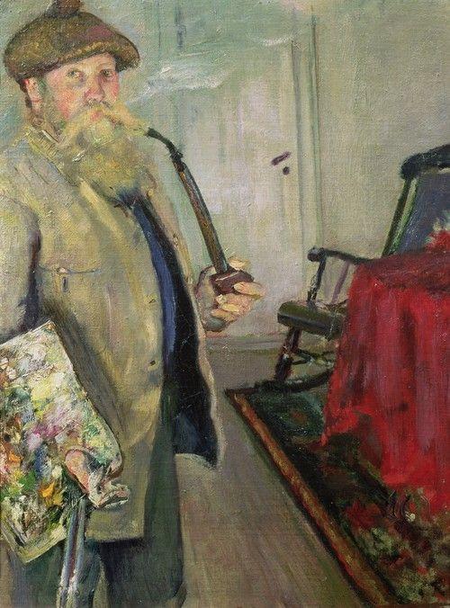 "Christian Krohg (Norwegian painter, 1852-1925) - ""Self-Portrait"", 1883"