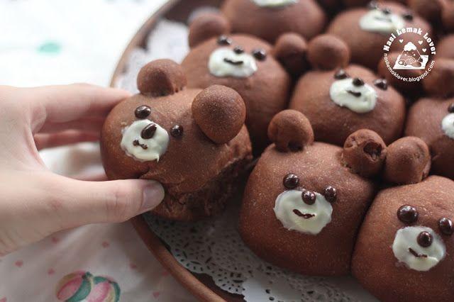 Медведь персонажа из мультфильма Хлеб Булочки 小熊 小 面包   Наси Лемак Lover   Bloglovin '