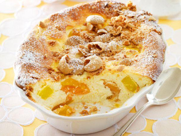 Süßer Mango-Quark-Auflauf Rezept | LECKER