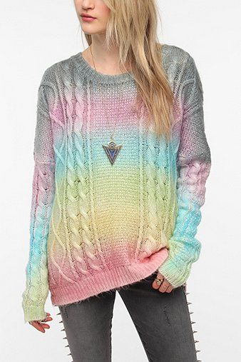 UNIF Oversized Cake Sweater #urbanoutfitters