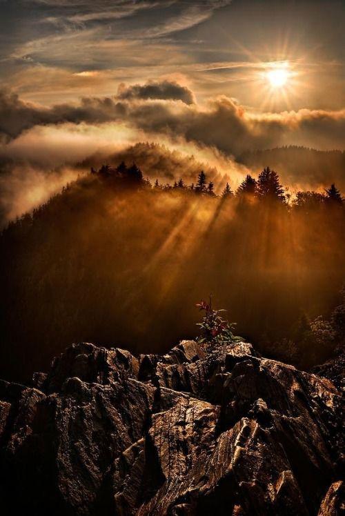 Appalachian Dawn… beautiful.