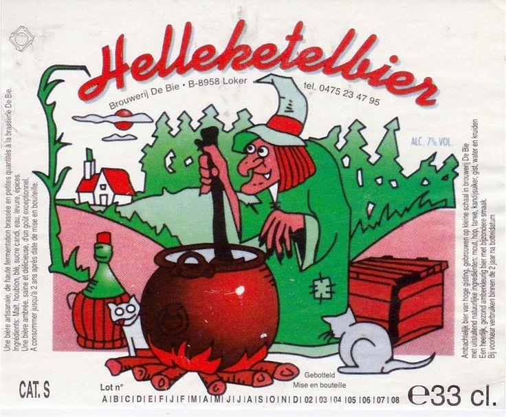 Helleketelbier, Belgian Ale 7% ABV (Brouwerij de Bie, Bélgica) #label