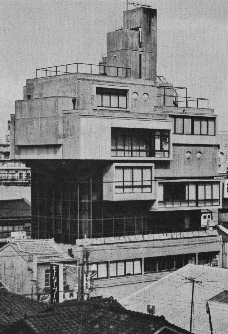 """fuckyeahbrutalism: """"Jian-Ji Temple, Osaka, Japan, 1960s (Kiyoshi Kawasaki) """""""