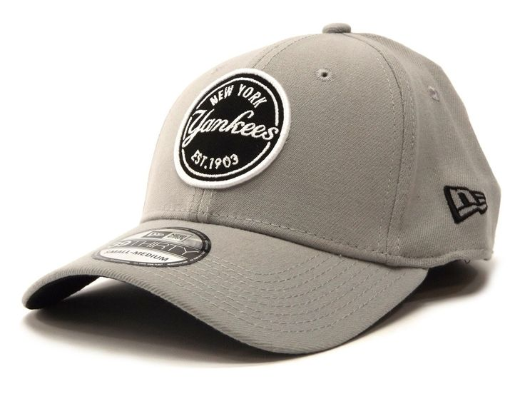 New Era Emblem Stretch 39THIRTY Yankees - Grey / Black – West Brothers #newera #39thirty #yankees