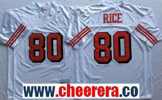 new concept b8f26 14b63 80 authentic jerry rice san francisco 49ers mens jersey nfl ...