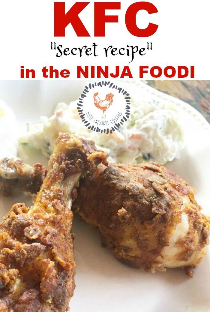 Kfc In The Ninja Foodi Home Pressure Cooking Kfcrecipe Ninjaf In 2019 Ninja Cooking