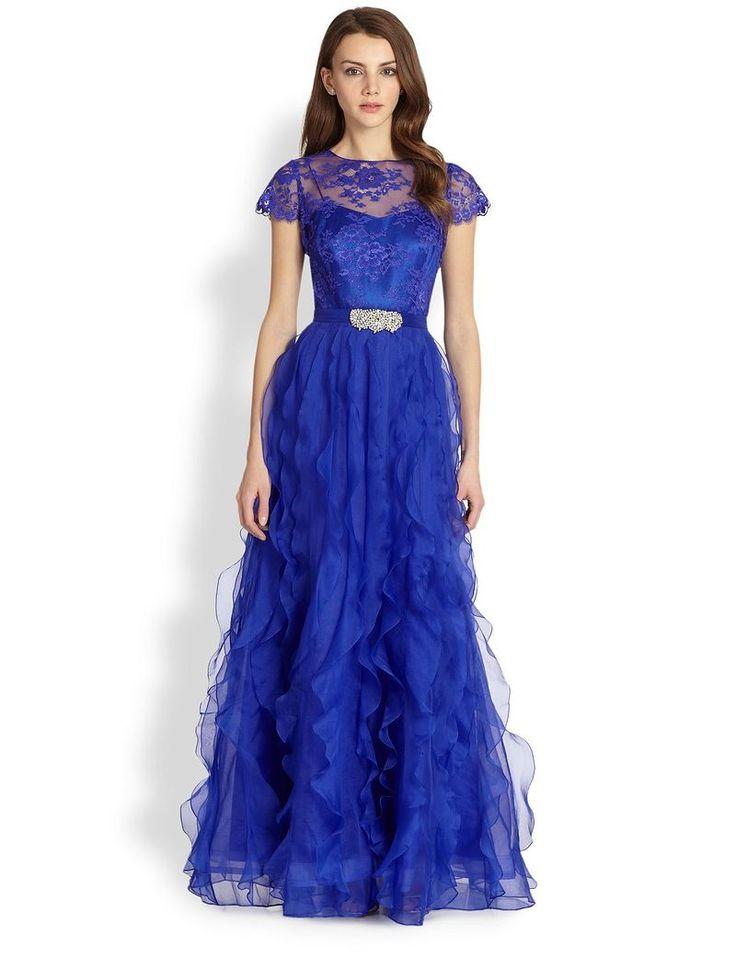 Роскошное Платье Цвета Индиго