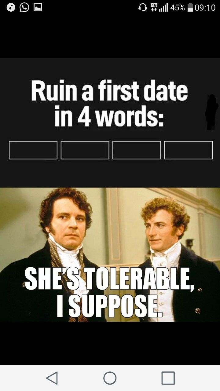 Poor socially awkward Darcy