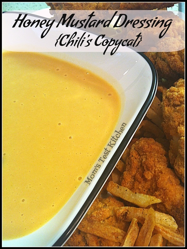Homemade Honey Mustard Dressing Chilis Copycat