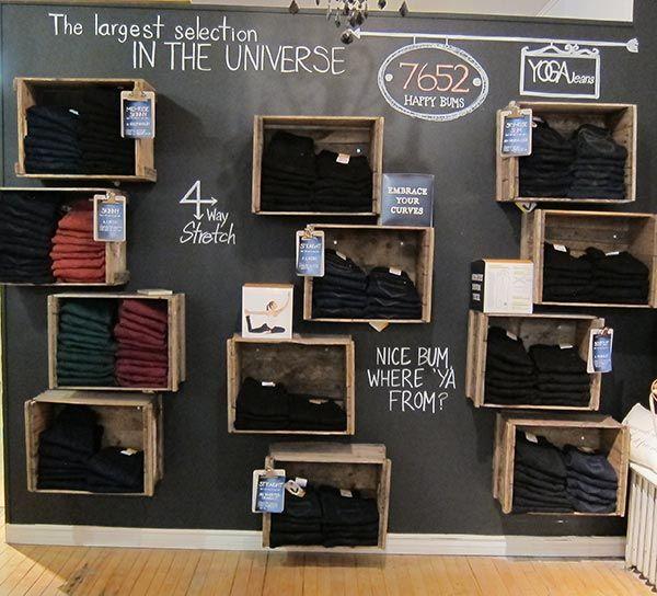 Recent Project: Shopgirls' Fall Displays | recreative works blog