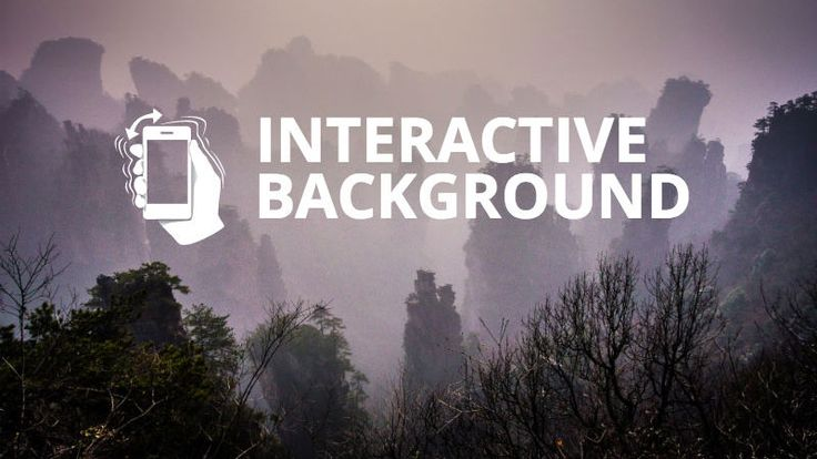 互動式背景---Create an Interactive Moving Background/Object that Reacts to Viewer's Cursor