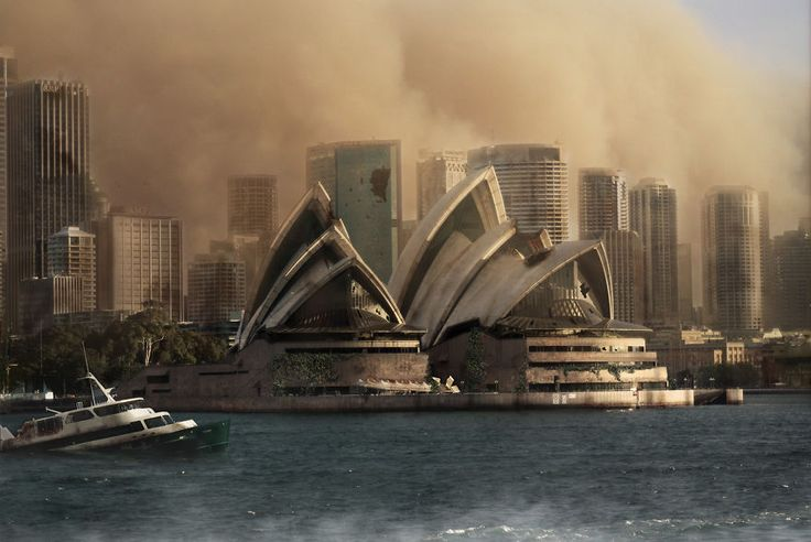 Designers Imagine Famous World Landmarks After A Zombie Apocalypse