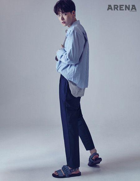 Ahn Jae Hyun - Arena Homme Plus Magazine July Issue '17