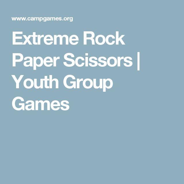 icebreaker rock paper scissors extreme