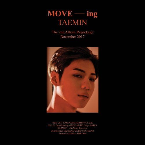 Download [Album] Taemin – Move-ing – The 2nd Album Repackage