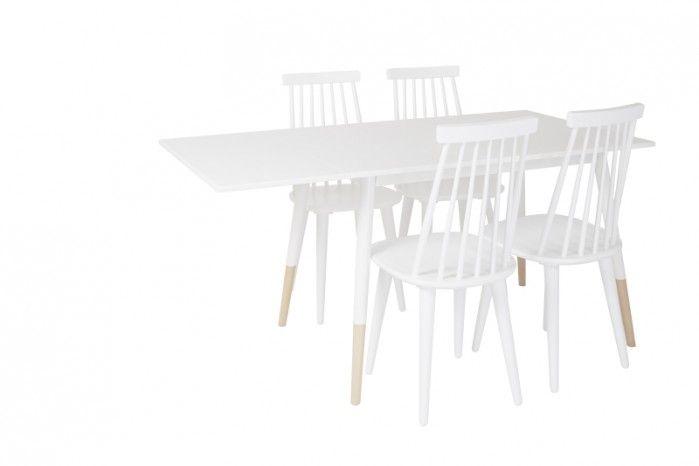 kjøkkenbord m/klaff 80x120/160 cm - MARTINSEN AS - Nordlys - Møbelringen