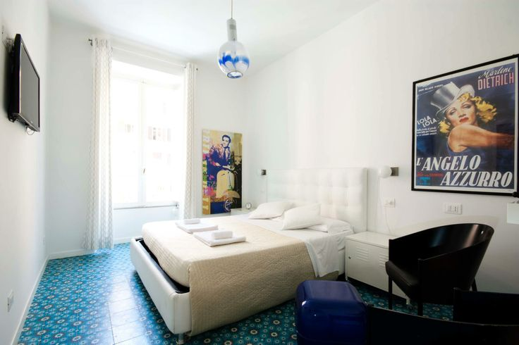 Cement tiles - Project Retrome Rome - Hotel