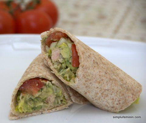 Salata de avocado cu ton | Simplu Feminin